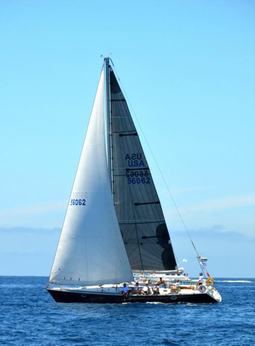 Sailing Dick Pace Sail Boat Race