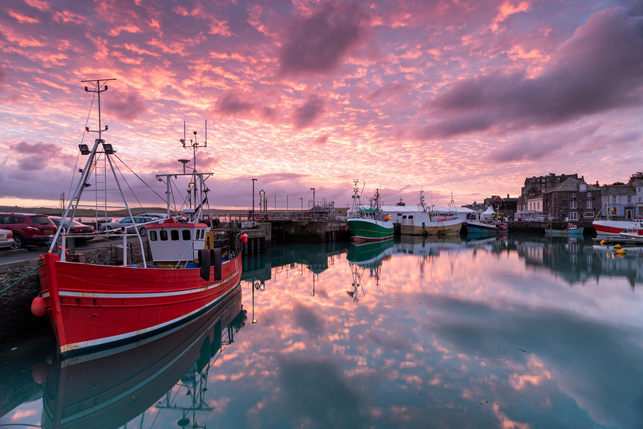 Dick Pace Fishing Reports Sunrise in Harbor