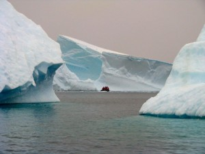 Dick Pace Antartica Glacier Photo