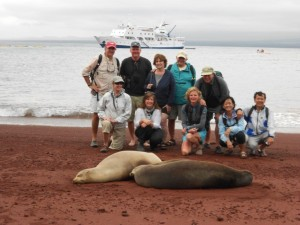 Dick Pace Galapagos Trip Group Photo