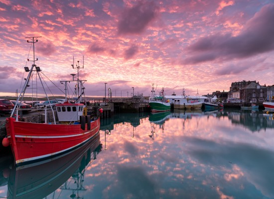 Dick Pace Fishing Reports Padstow Sunrise